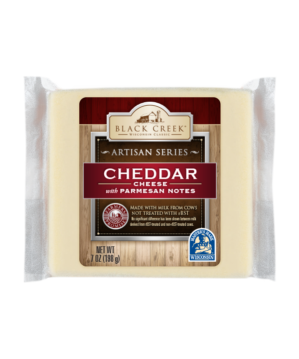 Black Creek Cheese Cheddar Cheese With Parmesan Notes,Artichoke Plant