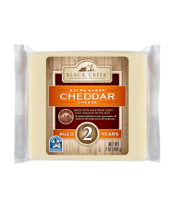 Extra Sharp Cheddar Aged 2 years