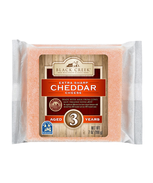 Extra Sharp Cheddar Aged 3 years